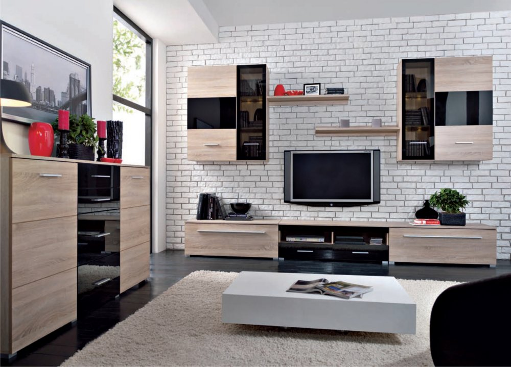 Obývacia stena - BRW - Somatic